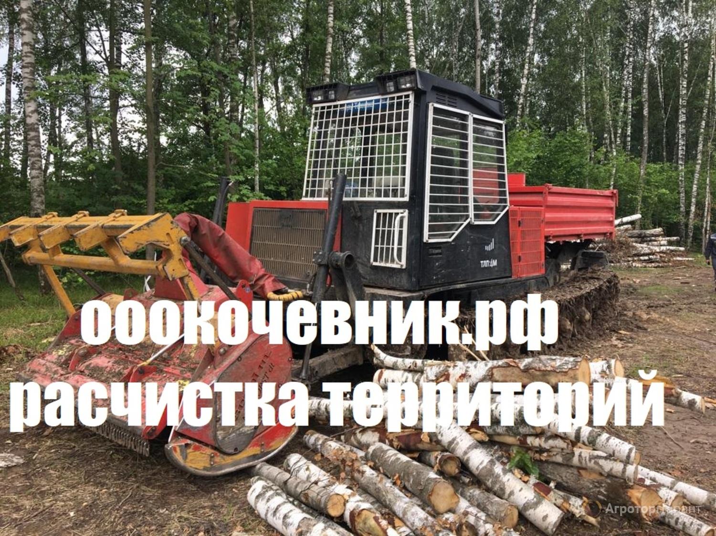 Объявление Корчевание пней, деревьев, лесополос, садов в Краснодарском крае