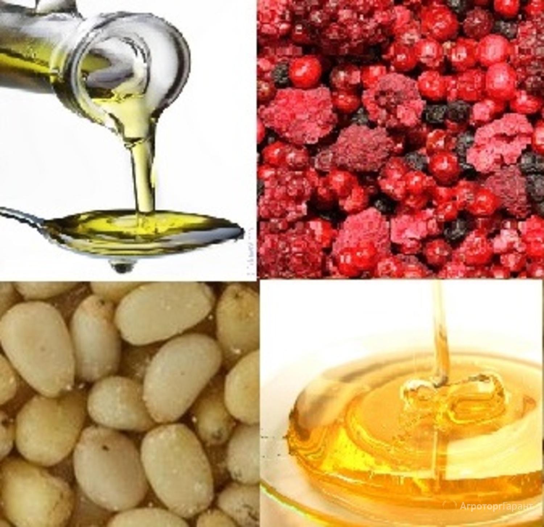Объявление Орех кедровый, масло кедровое, ягода сушеная, мед в Алтайском крае