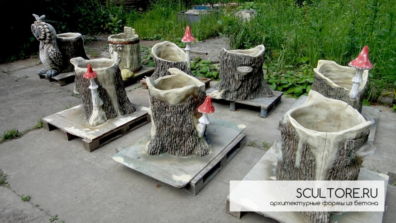 скульптуры на заказ из бетона