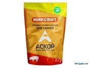 Объявление Премикс Миксвит универсальный для свиней (мелкая фасовка) в Москве и Московской области