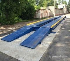 Объявление Автомобильные весы с полным заездом,  40 000 кг в Новосибирской области