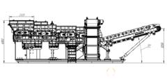Объявление Мобильная установка загрузки и сортировки угля, известняка, гипза, базальта. в Магаданской области