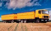 Объявление Грузоперевозки - Зерновые машины от 24 тонн, Краснодарский край. в Краснодарском крае