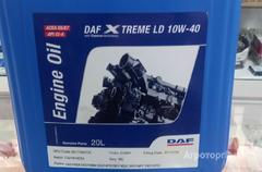 Объявление DAF Xtreme LD 10W-40 полусинтетическое моторное масло в Алтайском крае