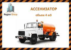 Объявление Ассенизаторская машина услуги (ГАЗ 3304ВР) Ульяновск в Ульяновской области