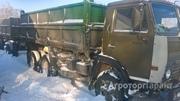 Объявление Камаз 55102 +прицеп, зерновоз -самосвал в Алтайском крае