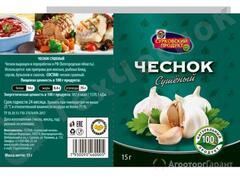 Объявление Чеснок сушеный (15 г.) в Белгородской области