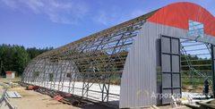 Объявление Изготовление и монтаж быстровозводимых и авиационных ангаров в Пензенской области