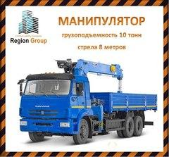 Объявление Манипулятор услуги аренды строительной спецтехники в Ульяновске в Ульяновской области