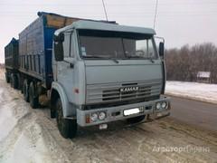 Объявление Аренда бортового зерновоза с прицепом КАМАЗ в Алтайском крае