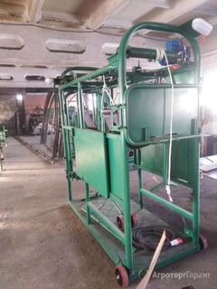 Объявление Станок для обработки копыт КРС с электроподъемником в Удмуртской Республики