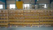 Объявление Масло  подсолнечное  рафинированное  оптом с  завода 45р/литр. в Краснодарском крае