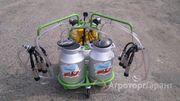 Объявление Доильный аппарат 2 пульсатора, 2 бидона по 30 литров AGROLEAD в Ростовской области