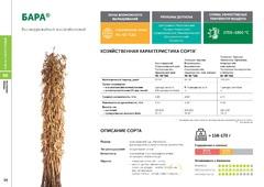 Объявление Семена сои: сорт БАРА селекции Компании Соевый комплекс в Краснодарском крае