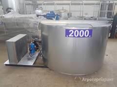 Объявление Охладитель молока открытого типа (вертикальный)2000 л в Удмуртской Республики