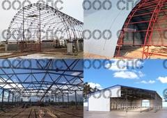 Объявление Металлоконструкции, Ангары, Промышленные полы в Омской области