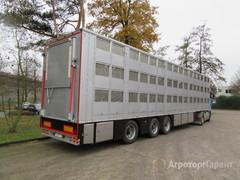 Объявление Полуприцеп для перевозки живого скота 3-х этажный в Белгородской области