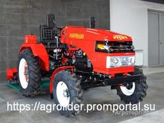 Объявление Мини-трактор Русич Т-21 4x4 wd в Иркутской области