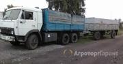 Объявление Услуги камаза зерновоза в Алтайском крае