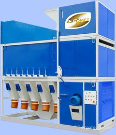 Объявление Зерноочистительная машина (сепаратор) САД-100 Калибровка зерна в Ростовской области