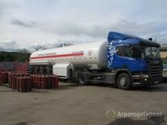 Объявление Сжиженный газ для зерносушилок. Заправка газгольдеров в Новосибирской области