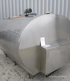 Объявление Емкость-резервуар, танк горизонтальный или вертикальный для приемки и хранения молока в Свердловской области