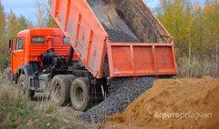 Объявление Доставка земли, щебня, песка, дров, навоза в Санкт-Петербурге и области