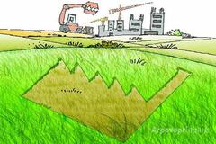 Объявление Продам земельный участок на границе Тульской и Московской областей в Тульской области
