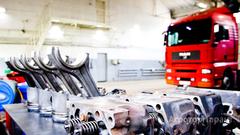 Объявление Ремонт грузовых автомобилей и спецтехники в Свердловской области