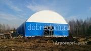 Объявление Строительство бескаркасных ангаров Новосибирск ДОБРЫЙ ДОМЪ в Новосибирской области